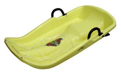 Müanyag bob TWISTER A2029-ZL - sárga