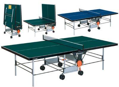Asztalitenisz pingpong asztal SPONETA S3-46i - zöld