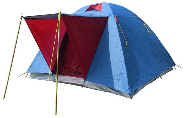 c481273916db Camping sátor 3/4 személes - kék