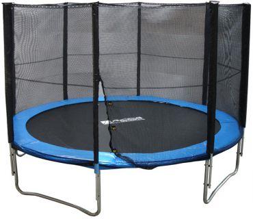 Trambulín biztonsági hálóval - 429 cm