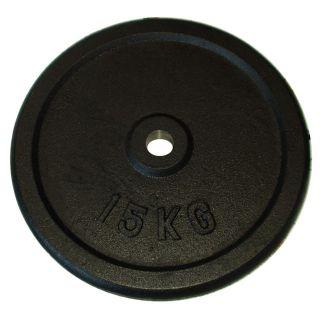 Súlytárcsa súlyzóhoz 15 kg - 25 mm