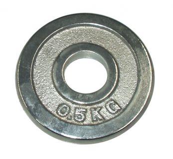 Súlytárcsa súlyzóhoz 0,5 kg - 25 mm