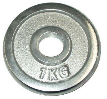 Súlytárcsa súlyzóhoz 1 kg - 30 mm