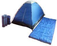 Kemping sátor szett BROTHER - 2 személyes