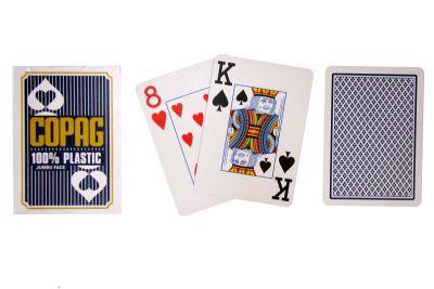 Póker kártyák Copag Jumbo 2 sarok Blue