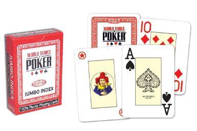Póker kártyák WSOP jumbo index piros