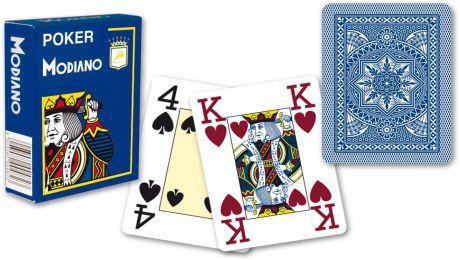 Modiano 4 sarok 100% műanyag kártyák - Kék