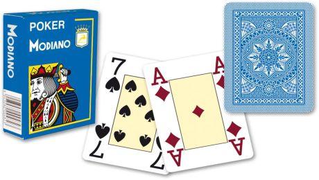 Modiano 4 sarok 100% műanyag kártyák - Világoskék