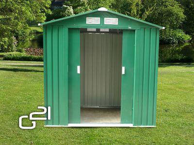 G21 GAH 327 - 191 x 171 cm-es kerti fém ház, zöld