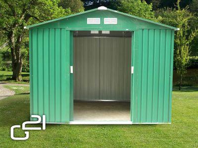 G21 G21 GAH 429 - 251 x 171 cm-es kerti fém ház, zöld