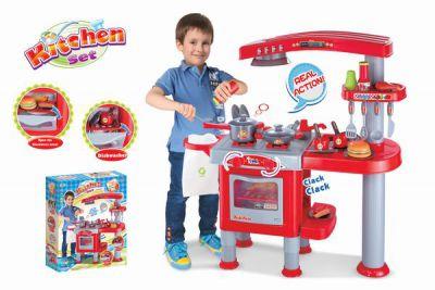 Gyermek konyha G21 kiegészítőkkel - piros