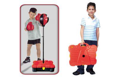G21 Boxzsák tartozékokkal bőröndben 90/130cm
