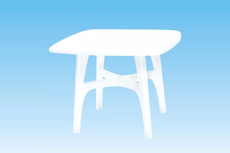 Műanyag asztal G21 - 93x93x72 cm