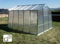 Üvegház G21 59 - 251 - 311 cm galvanizált
