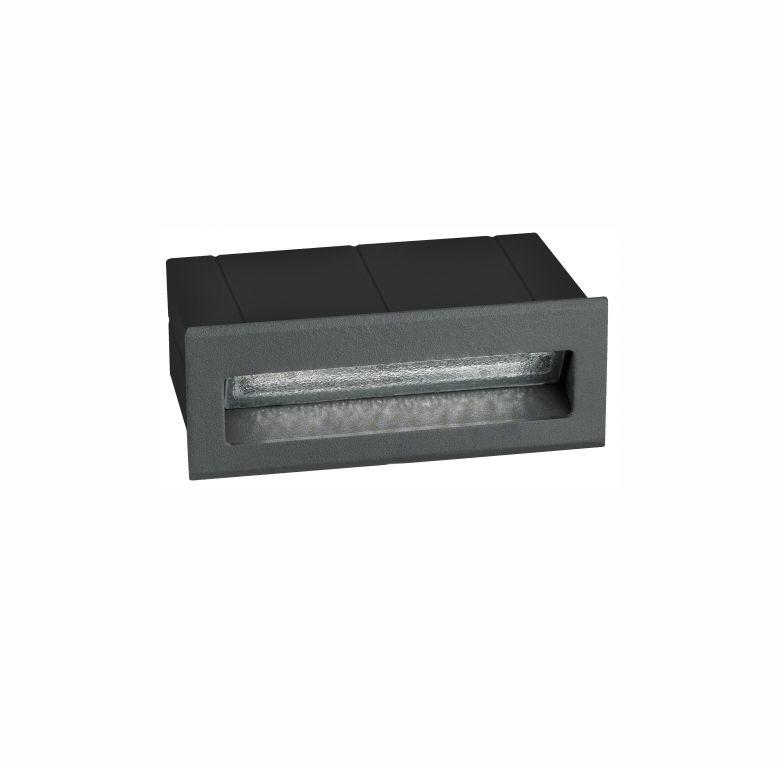 Beépíthető lámpa KRYPTON S STEP GREY 5 3W