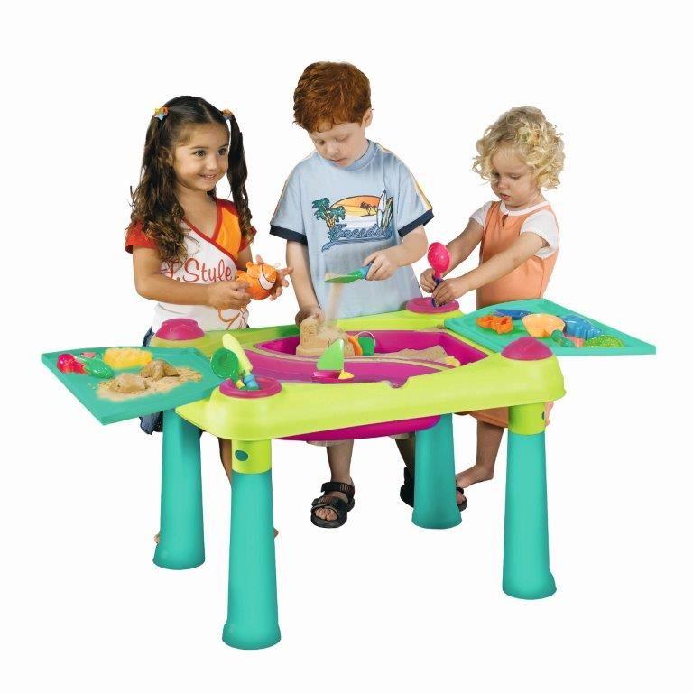 Műanyag játékasztal Keter CREATIVE FUN Zöld