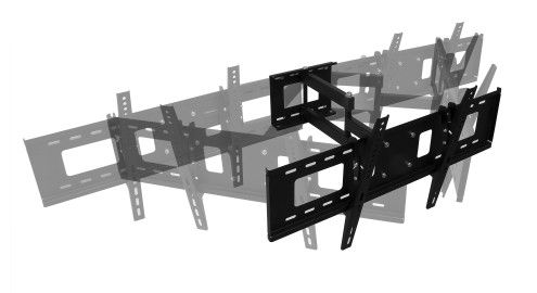 Fali konzol LCD televízióhoz – dönthető, forgatható