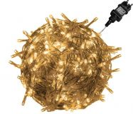 LED Fényfüzér VOLTRONIC® - 20m/200x LED meleg fehér