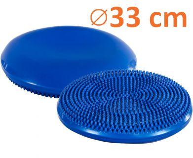 Masszírozó dinamikus légpárna MOVIT - 33 cm, kék