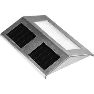 Kerti napelemes LED megvilágítás Garth - rozsdamentes acél