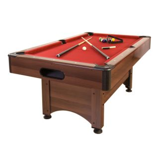 Pool biliárd asztal TUIN 5 ft 184 x 108 cm - piros