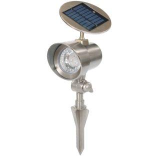 Napelemes kerti lámpa Garth 15 x 11,5 x 22 cm