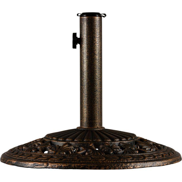 Napernyőtalp 10,5 kg, bronz