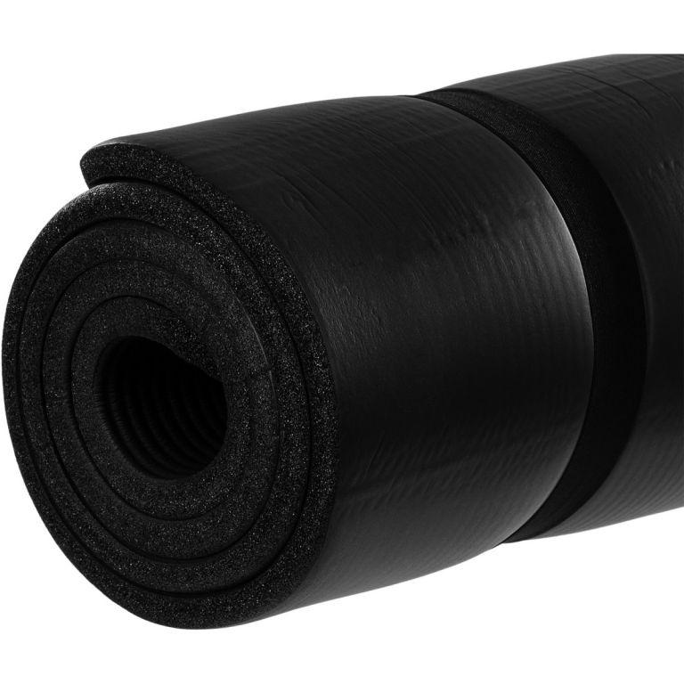 MOVIT jógamatrac - fekete, 190 x 100 x 1,5 cm