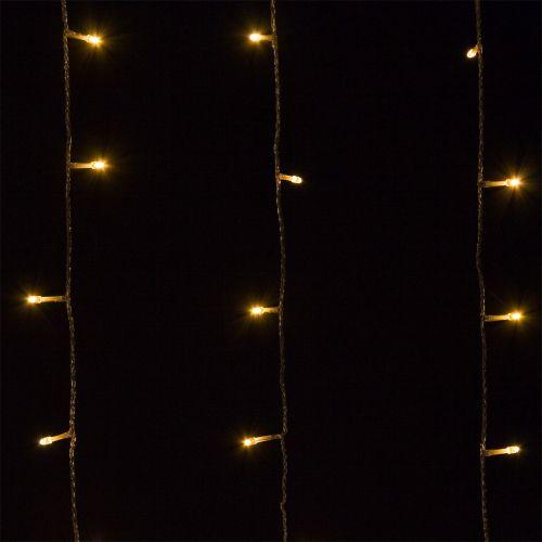 Karácsonyi LED fényfüzér 60 m - meleg fehér 600 LED