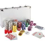 Póker készlet 300 db zseton ULTIMATE design 1 - 1000