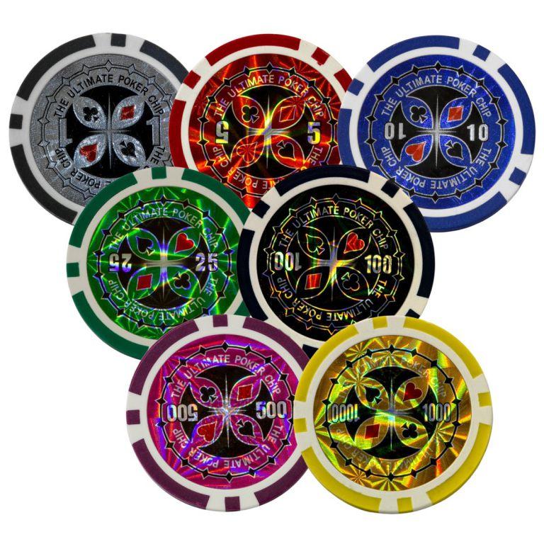 Póker készlet ULTIMATE design - 300 db zseton