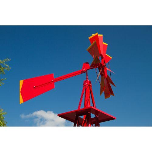 Szélmalom TUIN piros - 245 cm