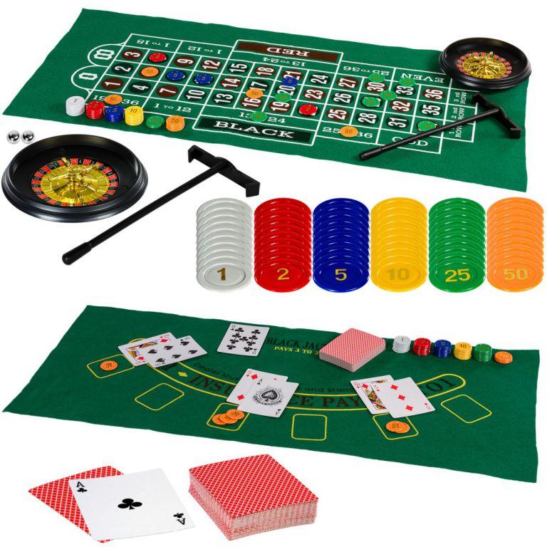Többfunkciós játékasztal - Multi 15, fekete