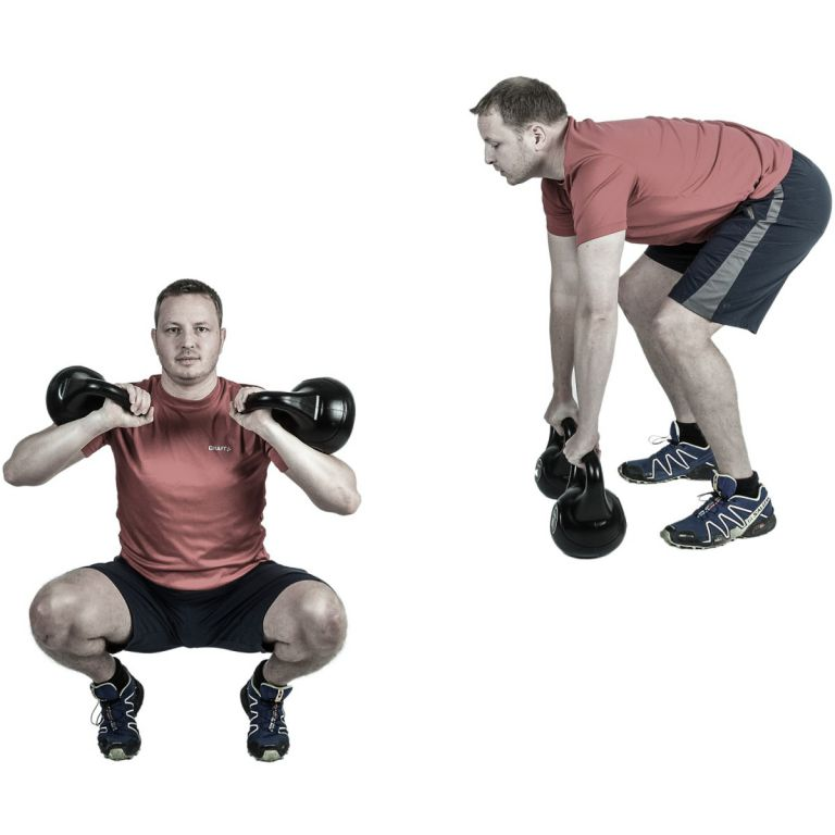 Kettlebell harangsúlyok MOVIT® - 5 kg