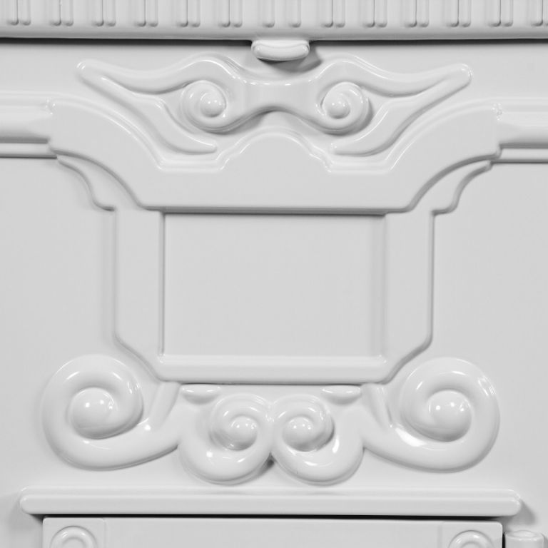 Hagyományos antik postaláda TUIN - fehér
