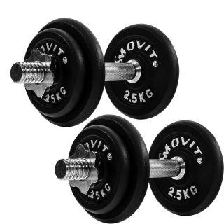 MOVIT egykezes súlyzó - 2 x 10 kg