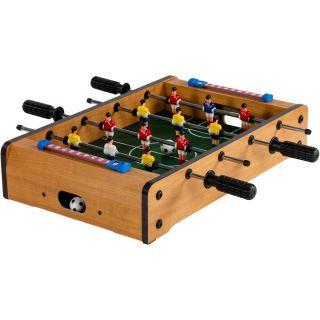 Mini asztali foci - 51 x 31 x 8 cm - bézs