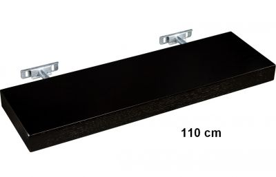 Fali polc STILISTA® Saliento 110 cm - barna sötét