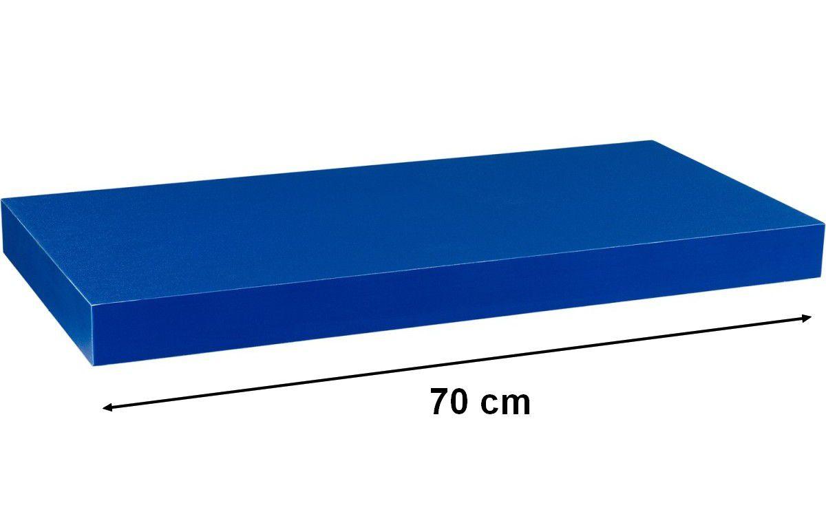Fali polcSTILISTA VOLATO - kék 70 cm