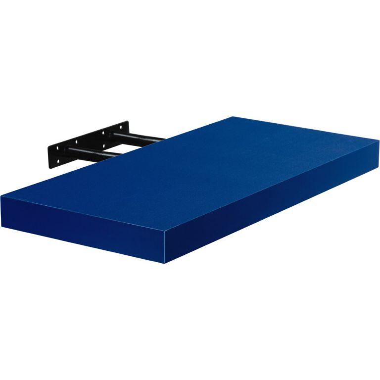 Fali polc  STILISTA VOLATO - kék 110 cm
