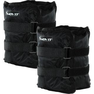 MOVIT bokasúly, 2 x 3,0 kg - fekete