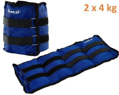 MOVIT bokasúly, 2 x 4,0 kg - kék