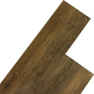 Úszó vinyl padló STILISTA 5,07m², hegyi fenyőfa barna