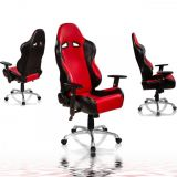 Irodai forgószék RACEMASTER® RS Series - piros