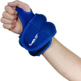 MOVIT csuklósúly, neoprén, 1,0 kg - kék