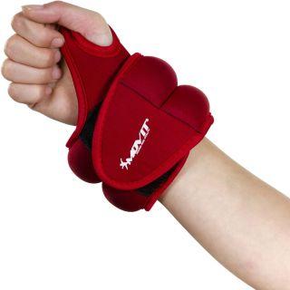 MOVIT csuklósúly, neoprén, 2,0 kg - piros