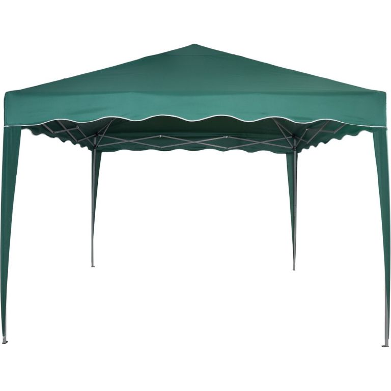 Kerti parti sátor lábakkal  3x3 m - zöld