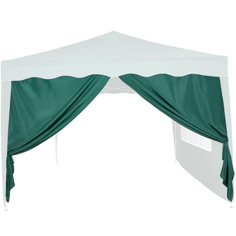 Pavilon oldalfal INSTENT® 3 x 3 m Zöld