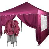 Kerti sátor összecsukható INSTENT Basic 3 x 3 m - piros