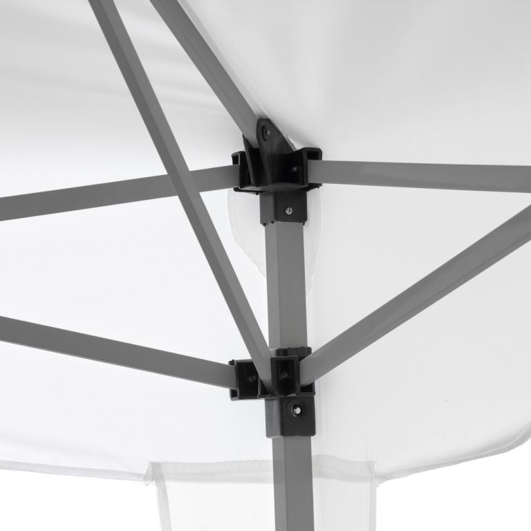 Kerti sátor összecsukható INSTENT Basic 3 x 3 m - fehér